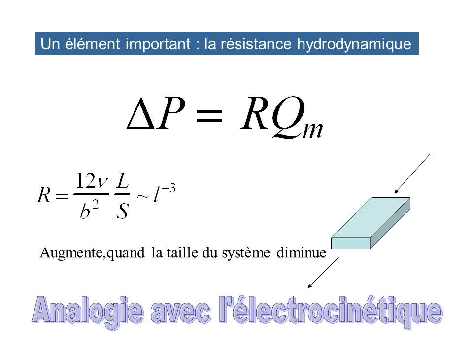 Analogie avec l électrocinétique