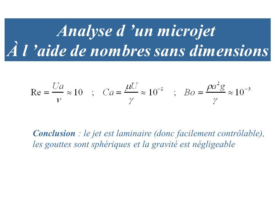 À l 'aide de nombres sans dimensions