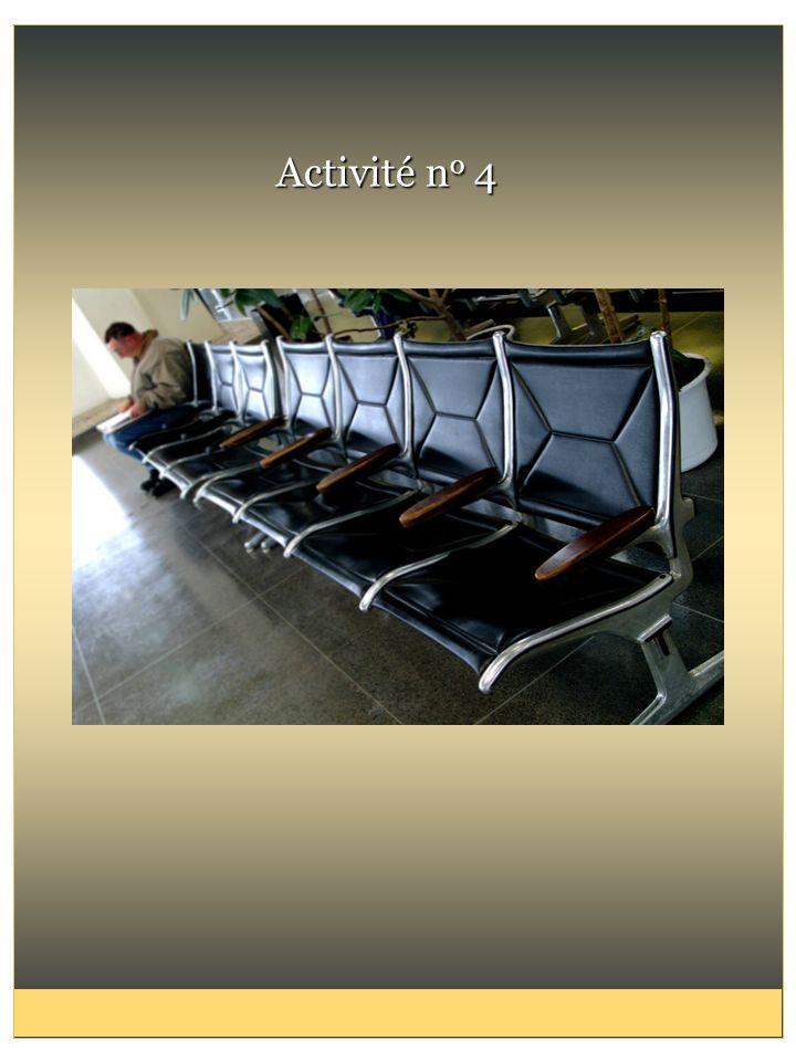 Activité no 4 NOTES SUR L'ACTIVITÉ no 4 : JEU DE RÔLES