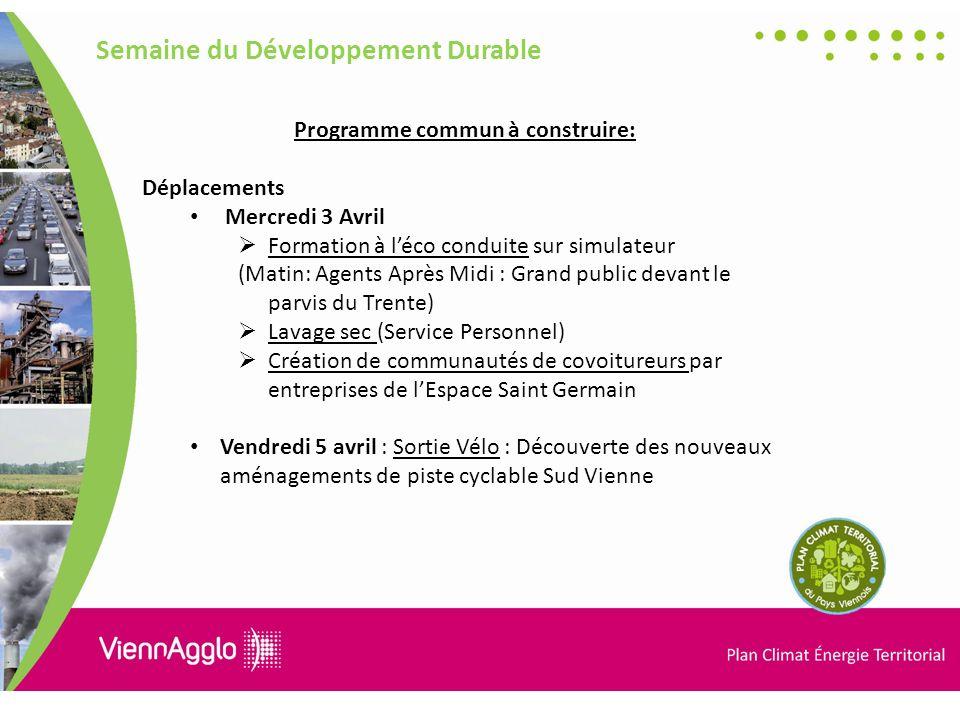 Programme commun à construire: