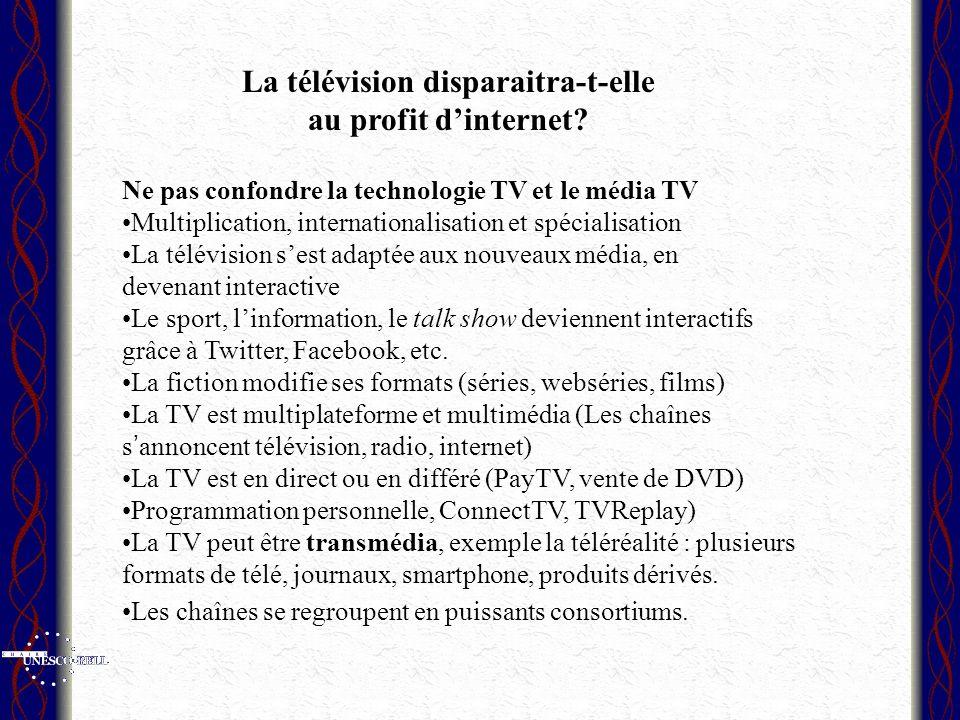La télévision disparaitra-t-elle