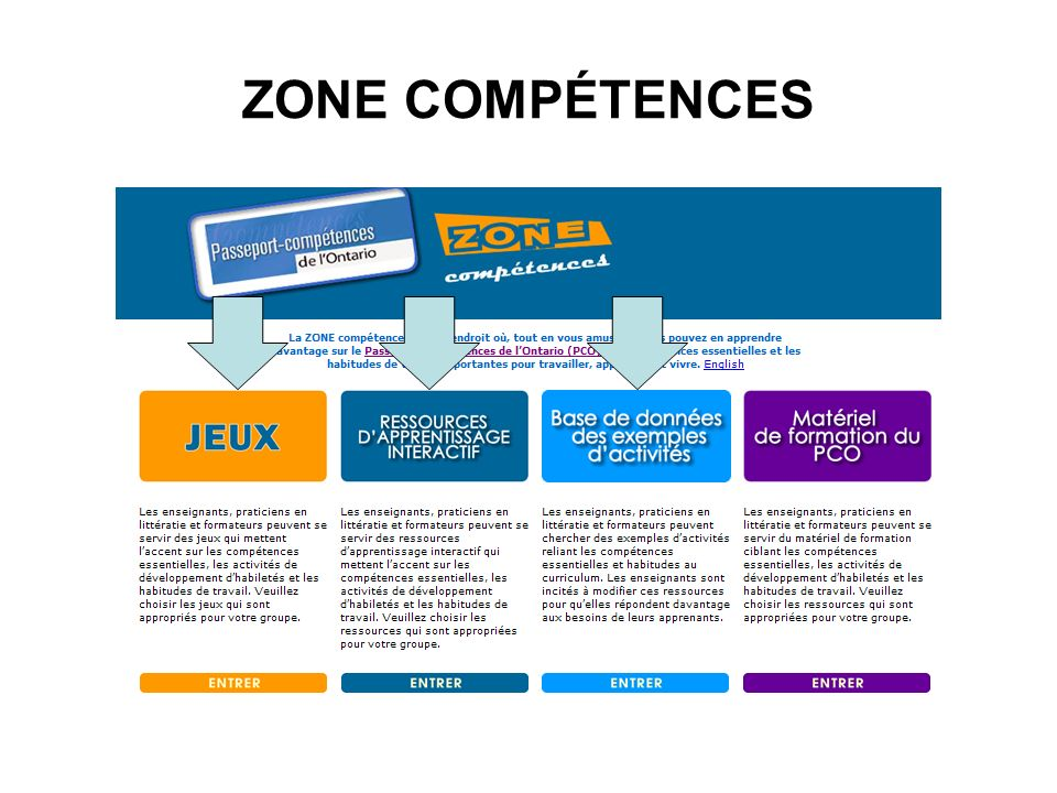 ZONE COMPÉTENCES
