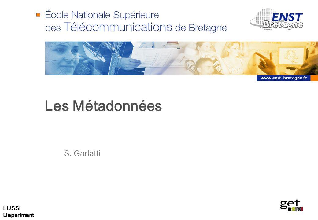 Les Métadonnées S. Garlatti