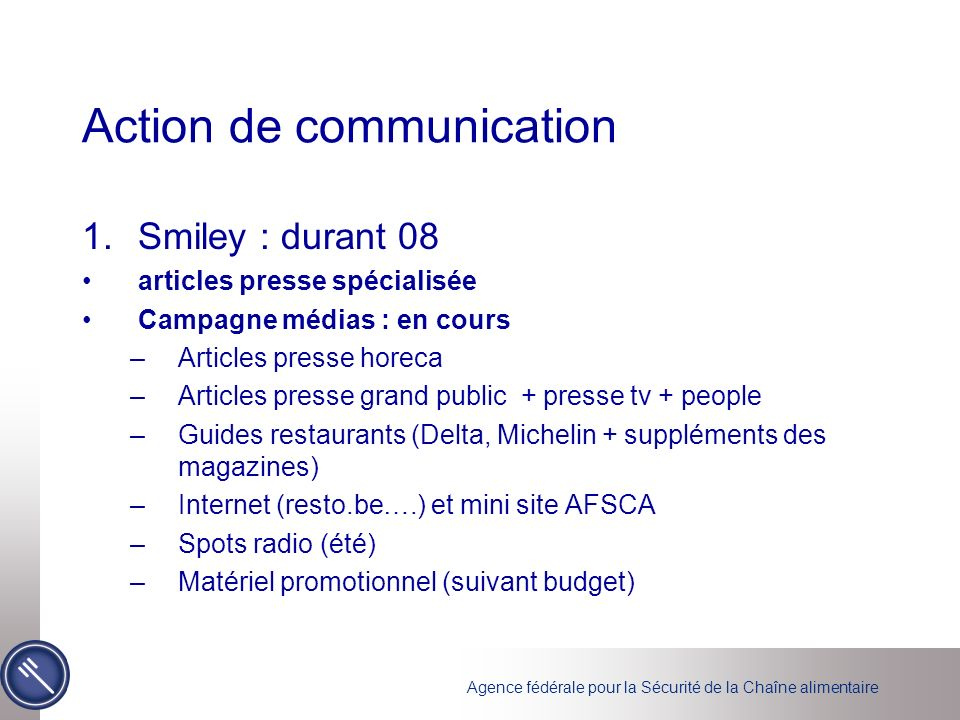 Action de communication
