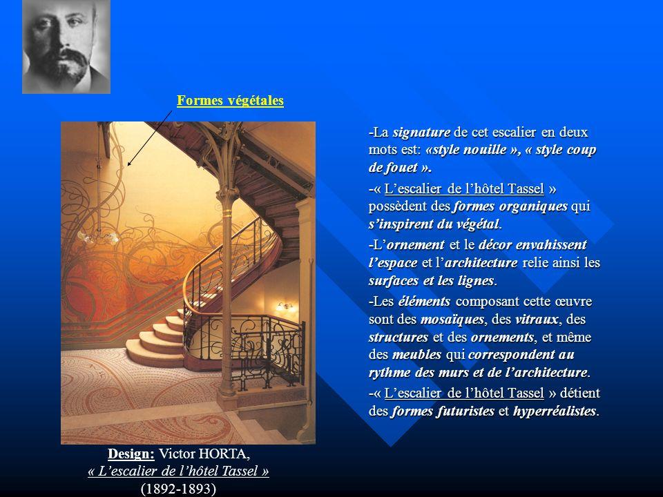 « L'escalier de l'hôtel Tassel »