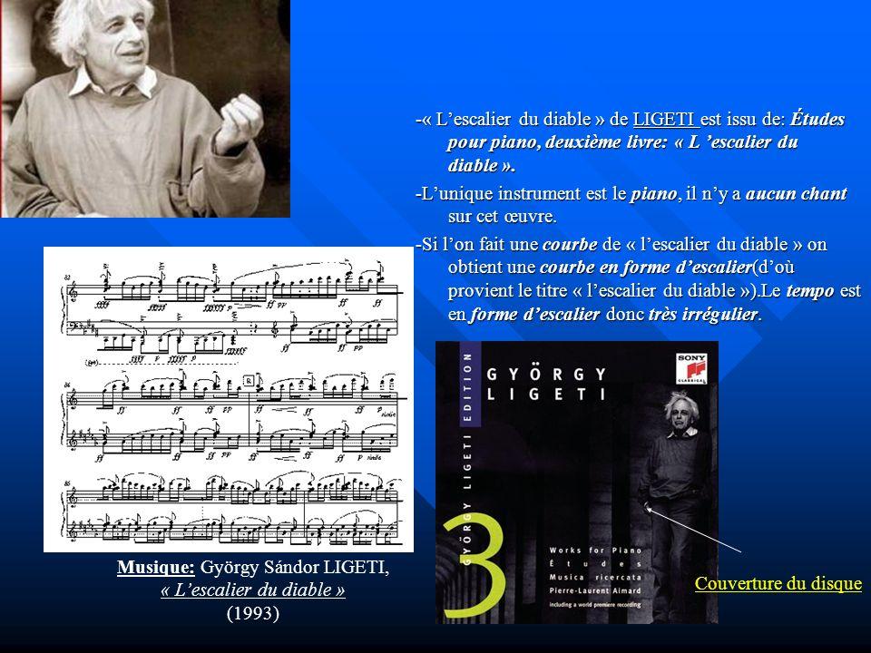 -L'unique instrument est le piano, il n'y a aucun chant sur cet œuvre.