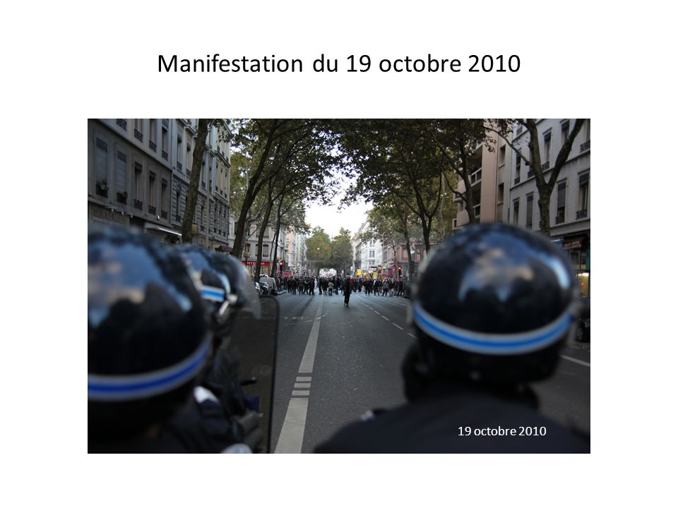 Manifestation du 19 octobre 2010