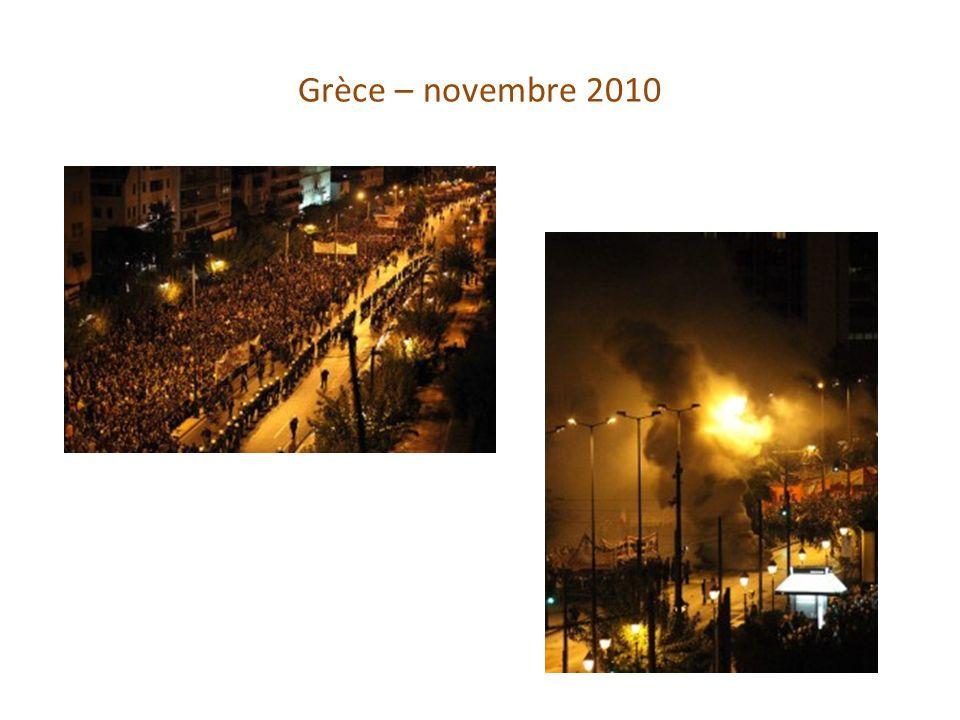 Grèce – novembre 2010