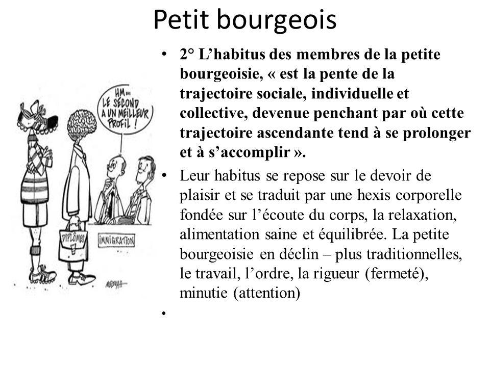 Petit bourgeois