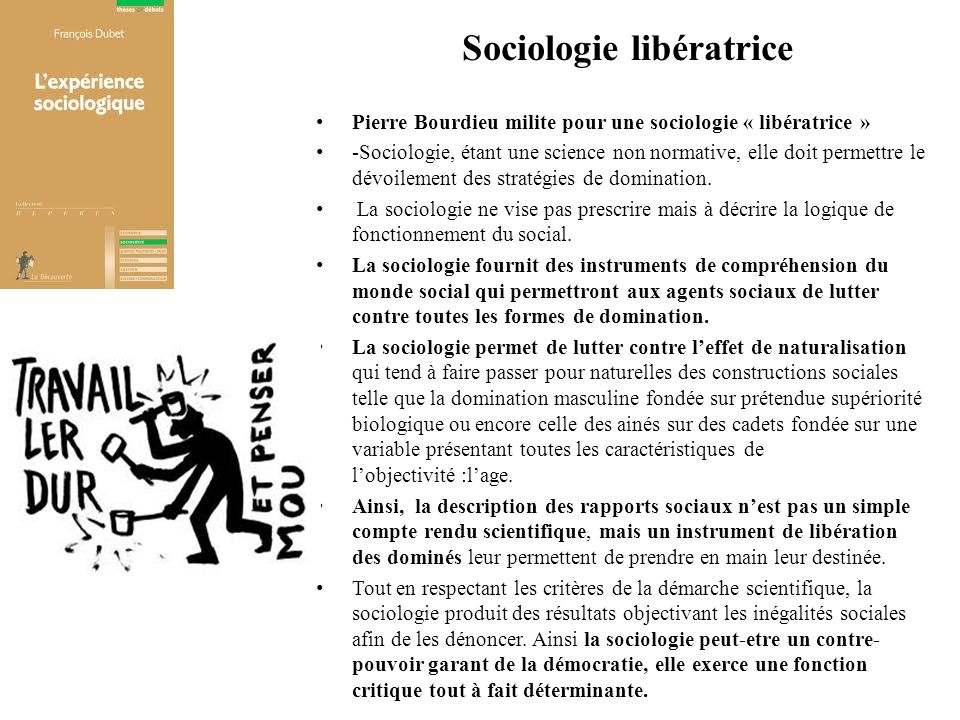 Sociologie libératrice