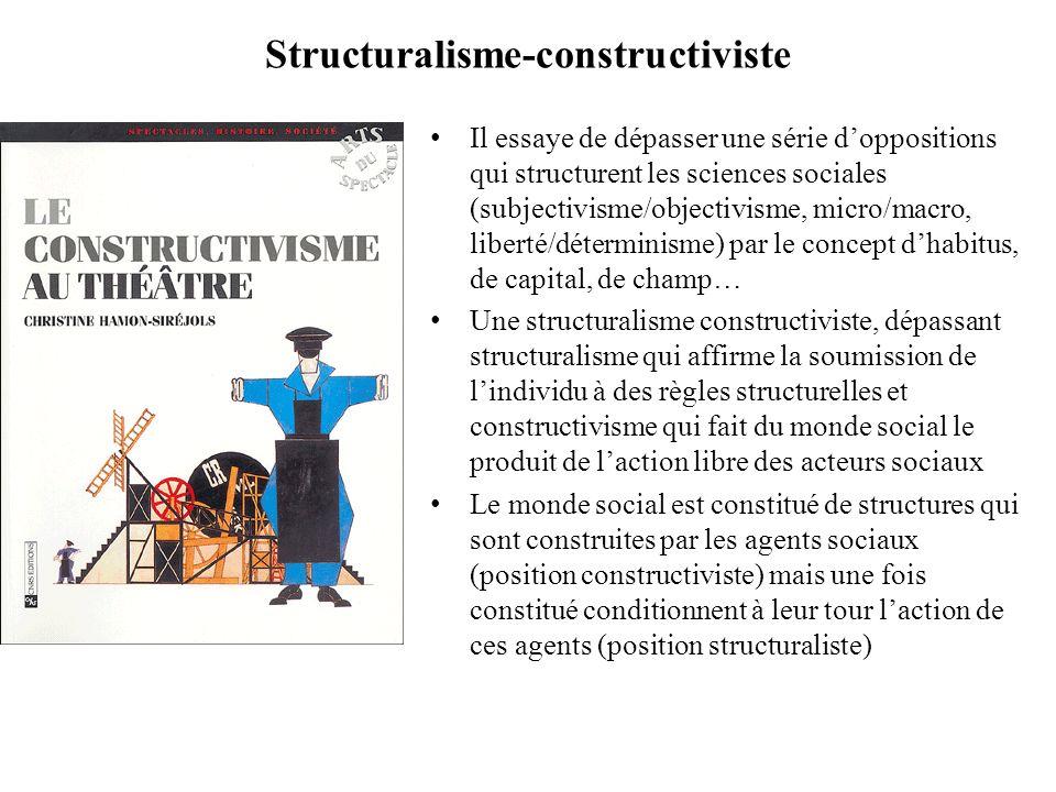 Structuralisme-constructiviste