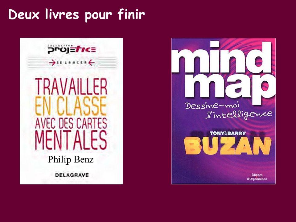 Deux livres pour finir Philip Benz