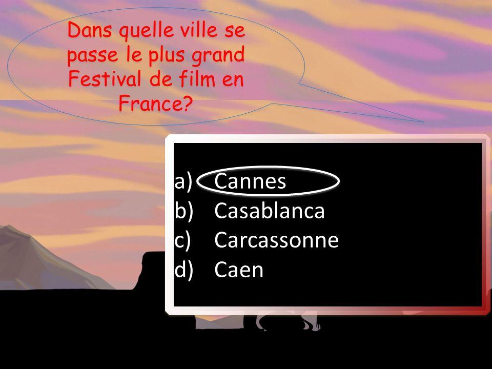 Dans quelle ville se passe le plus grand Festival de film en France