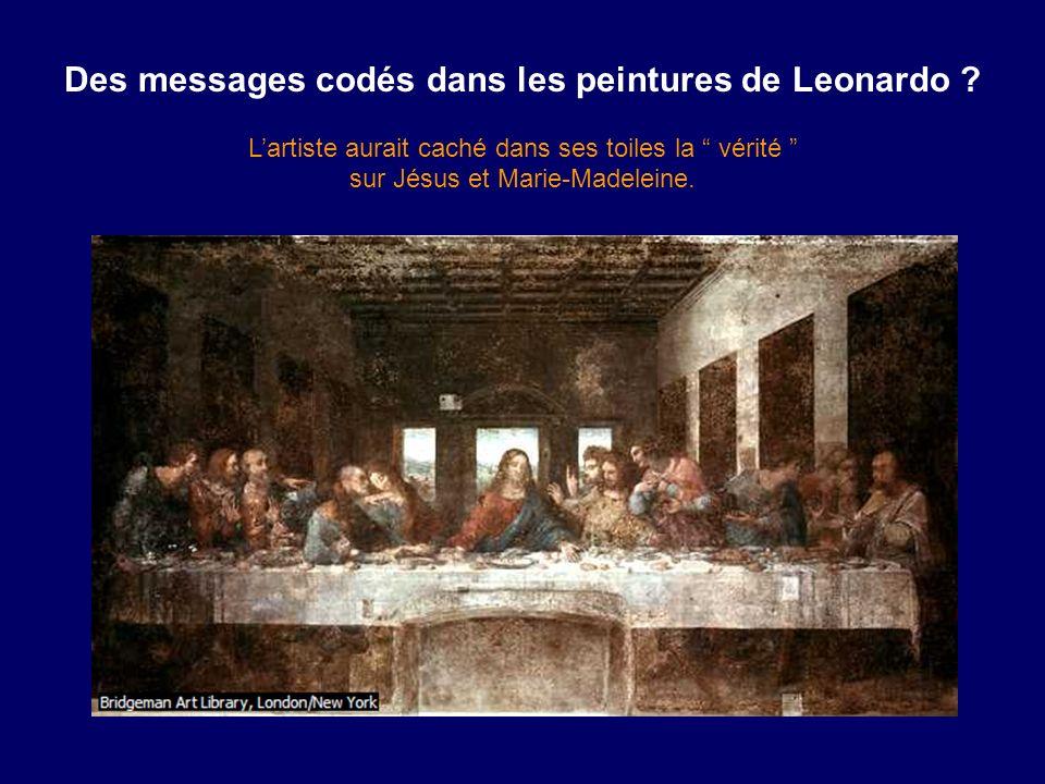Des messages codés dans les peintures de Leonardo