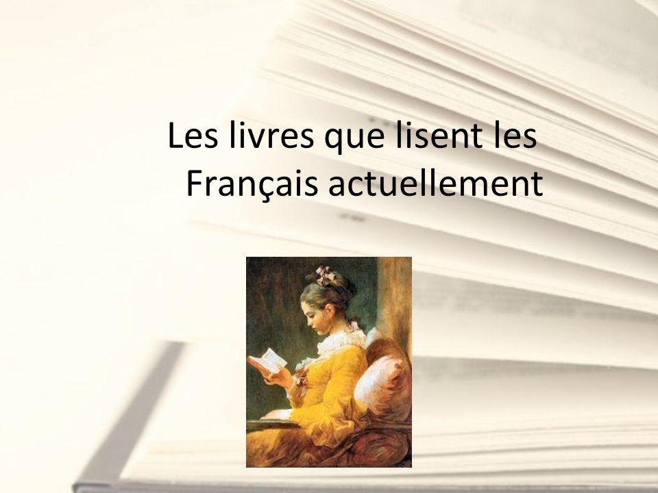 Les livres que lisent les Français actuellement