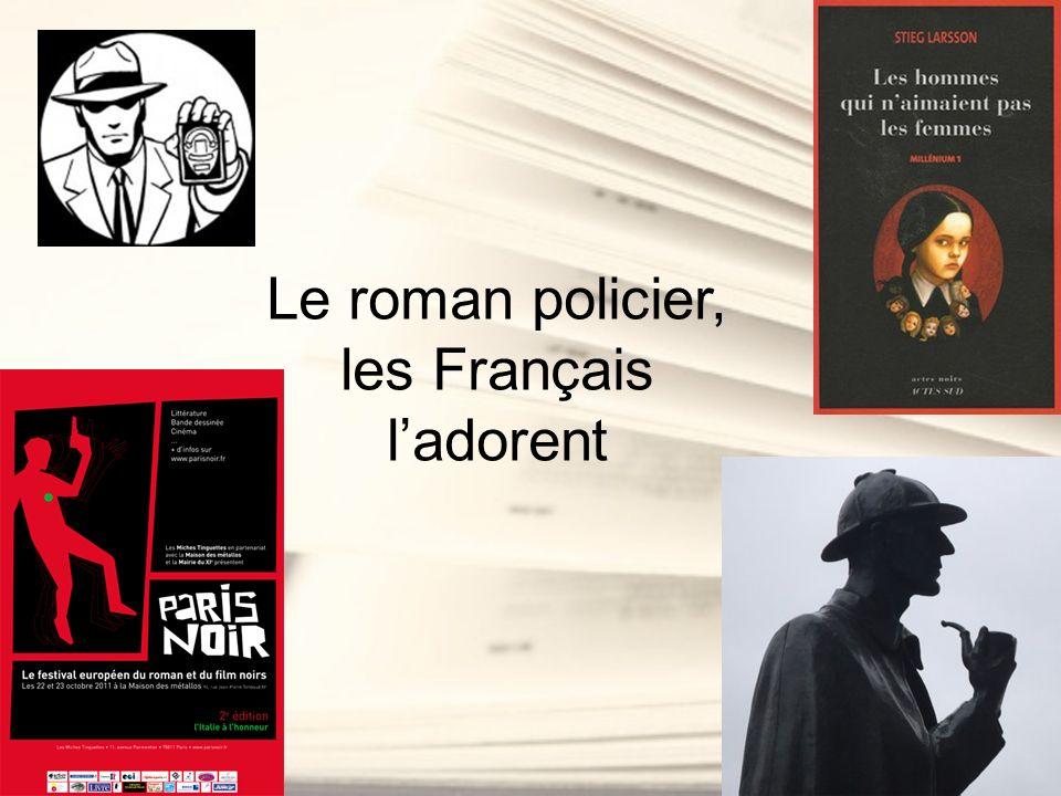 Le roman policier, les Français l'adorent