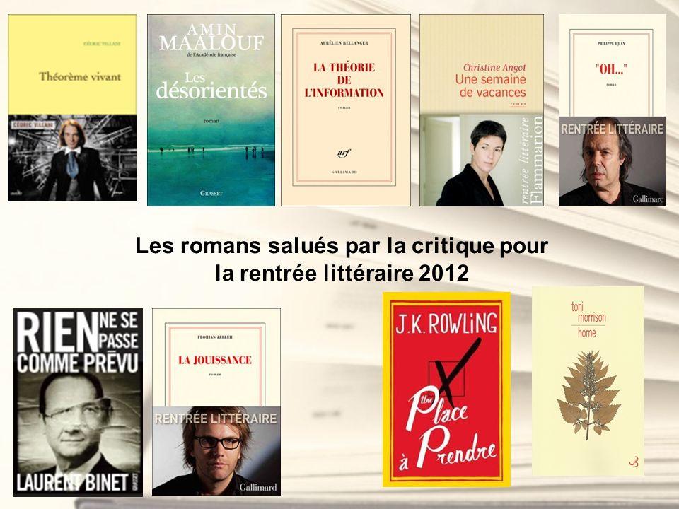 Les romans salués par la critique pour