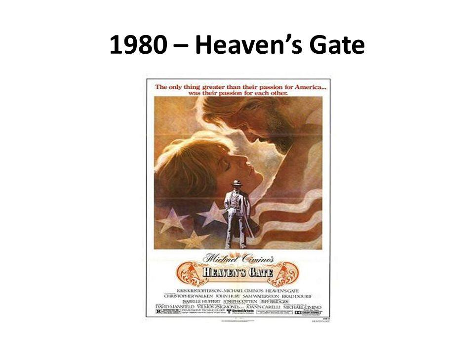 1980 – Heaven's Gate