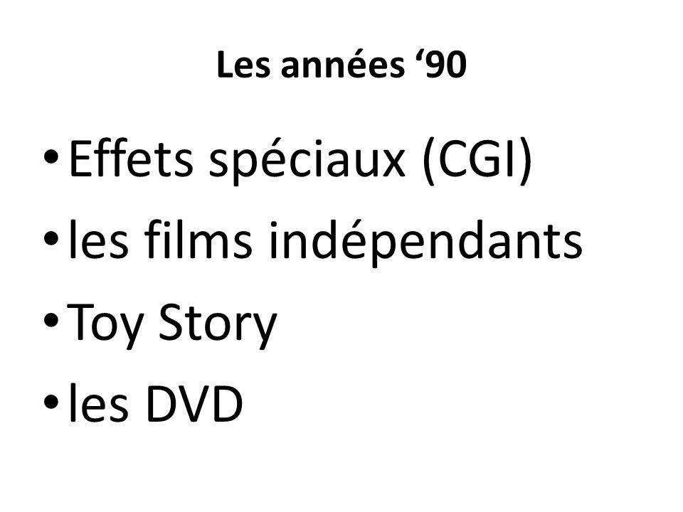 les films indépendants Toy Story les DVD