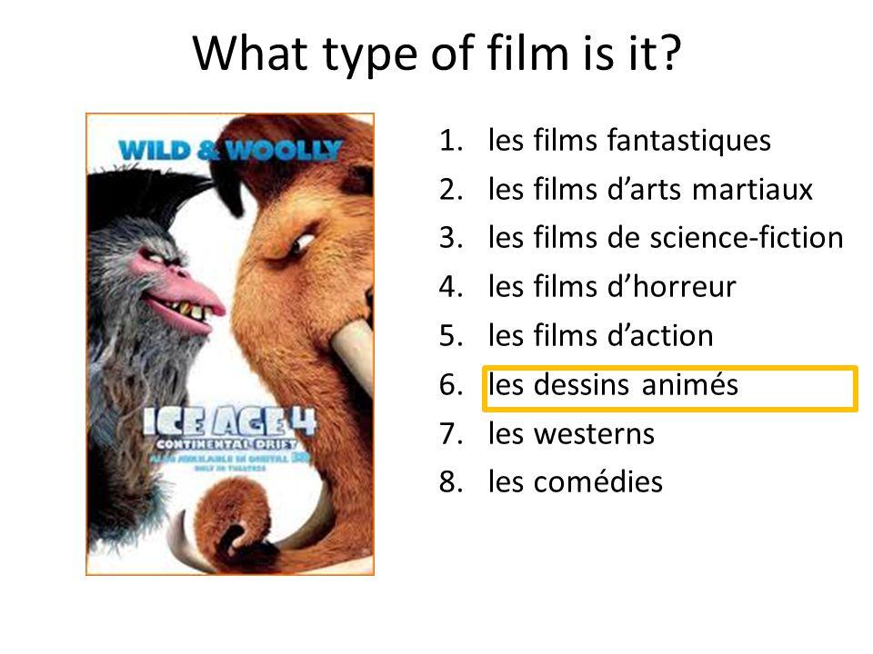 What type of film is it les films fantastiques