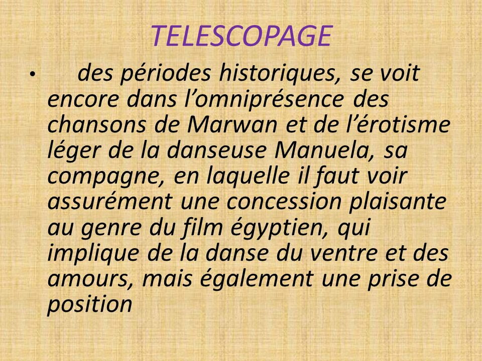 TELESCOPAGE