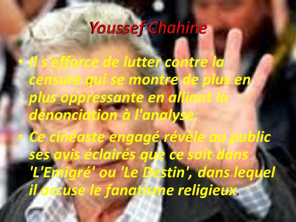 Youssef chahine Youssef Chahine