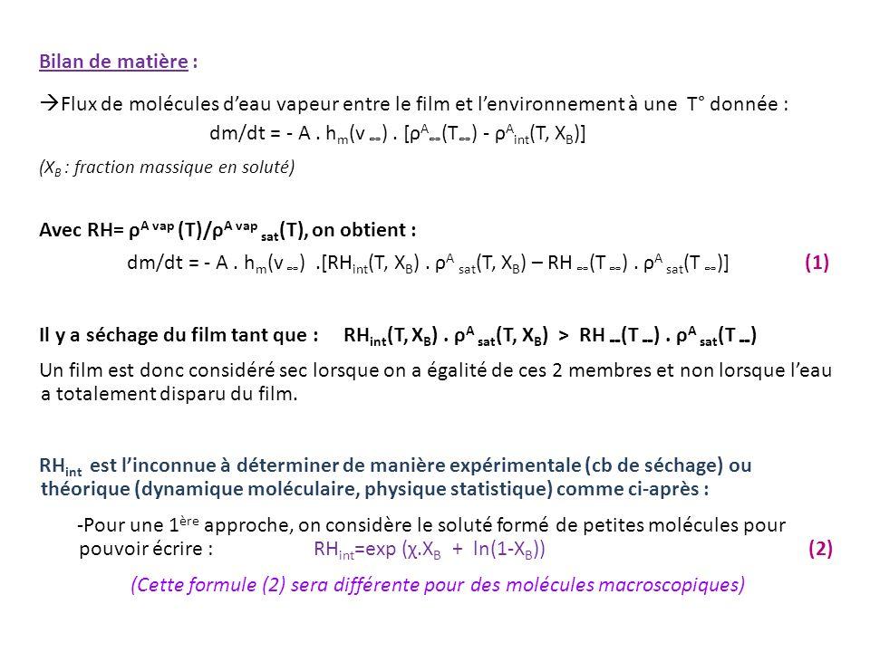 (Cette formule (2) sera différente pour des molécules macroscopiques)