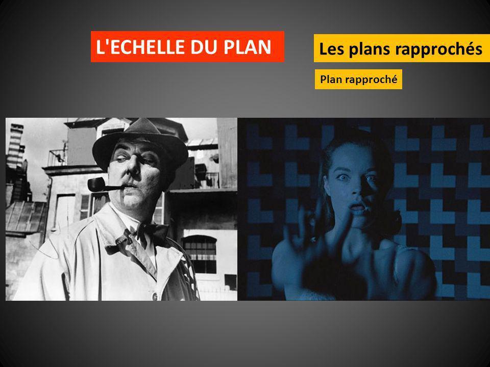 L ECHELLE DU PLAN Les plans rapprochés Plan rapproché