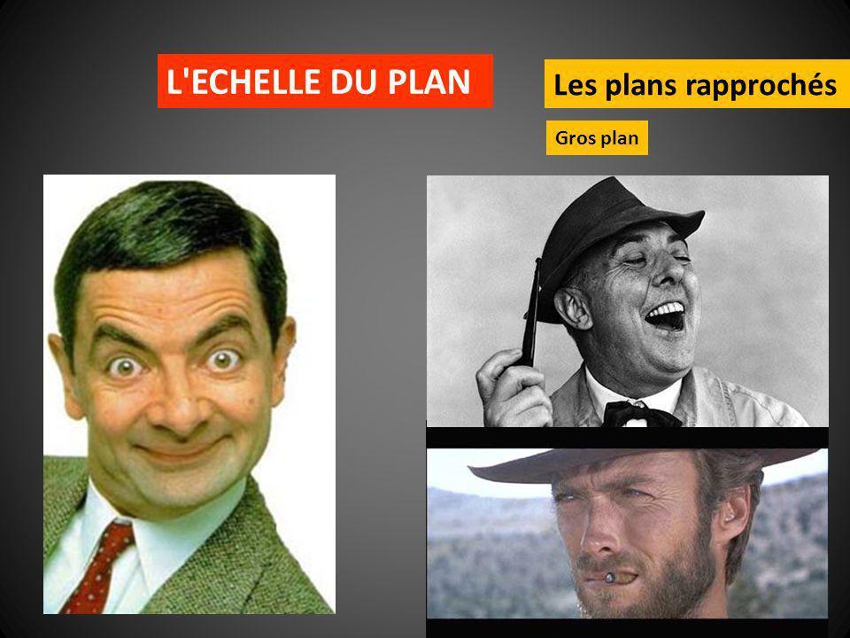L ECHELLE DU PLAN Les plans rapprochés Gros plan