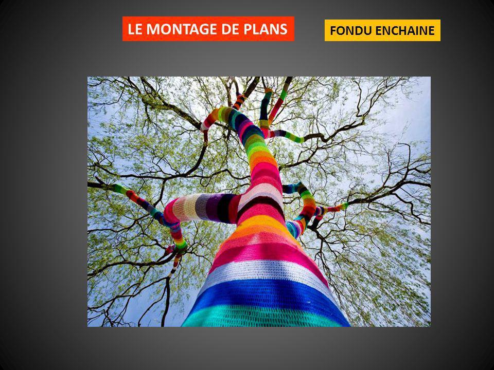 LE MONTAGE DE PLANS FONDU ENCHAINE