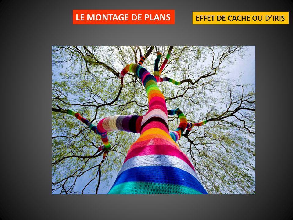 LE MONTAGE DE PLANS EFFET DE CACHE OU D'IRIS