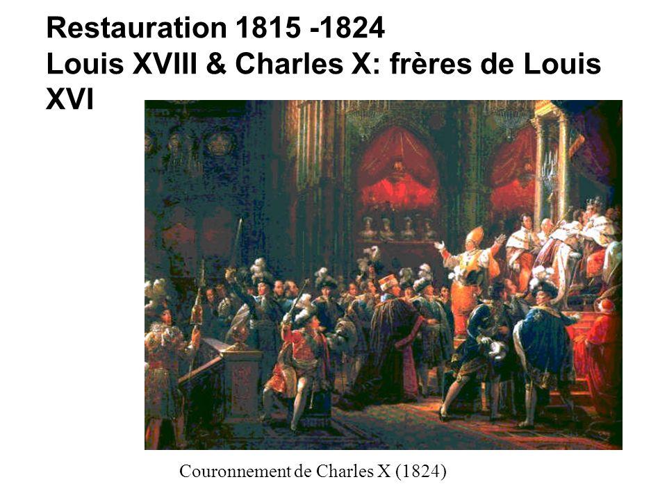 Louis XVIII & Charles X: frères de Louis XVI