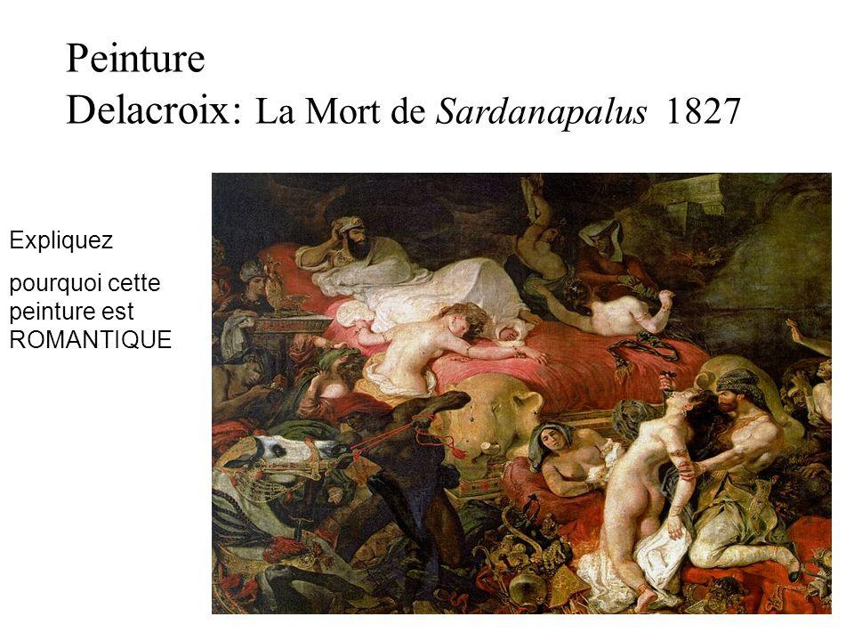 Delacroix: La Mort de Sardanapalus 1827