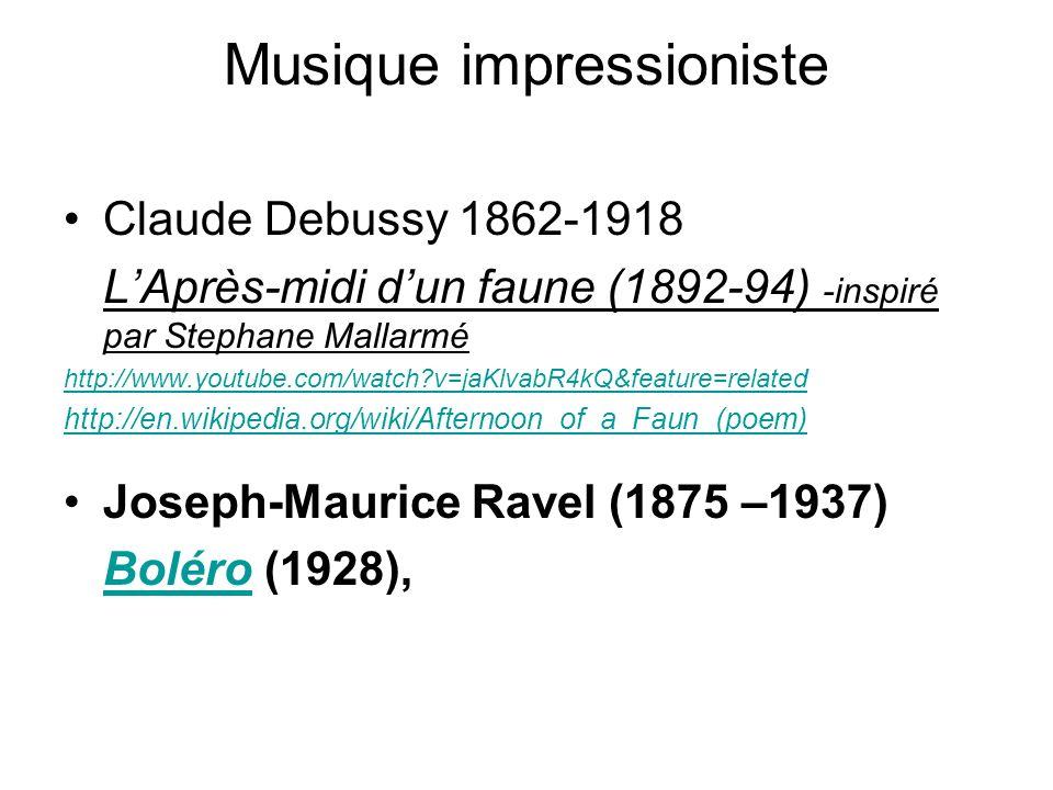 Musique impressioniste