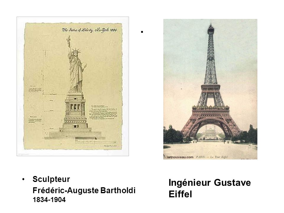 . Ingénieur Gustave Eiffel Sculpteur
