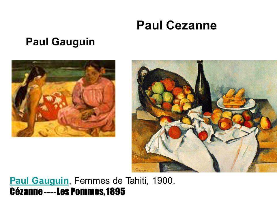 Paul Cezanne Paul Gauguin Paul Gauguin, Femmes de Tahiti, 1900.