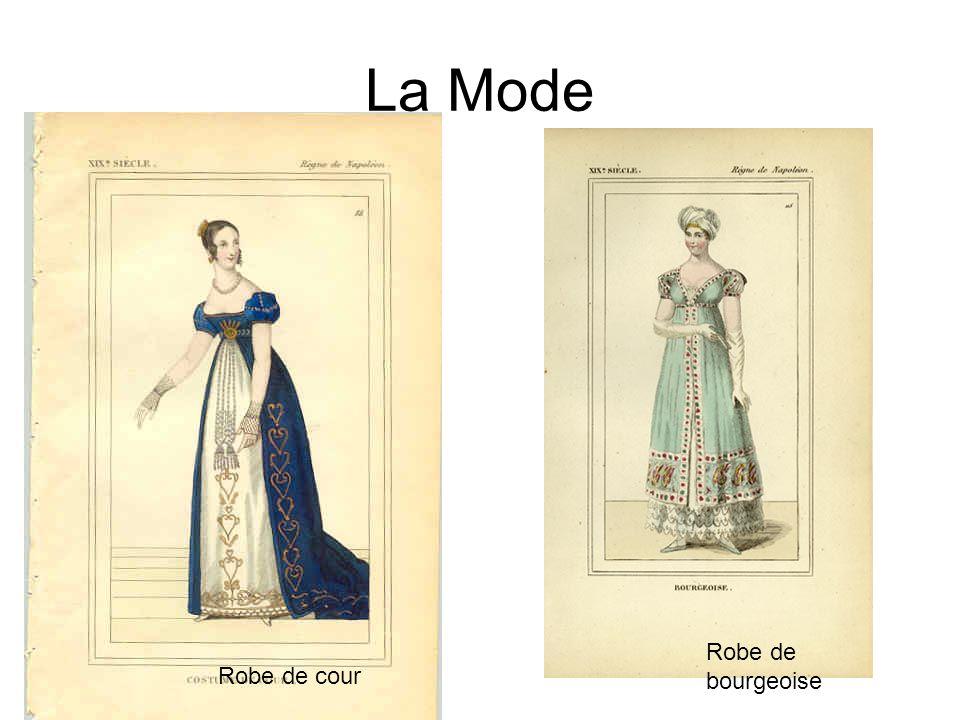La Mode Robe de bourgeoise Robe de cour