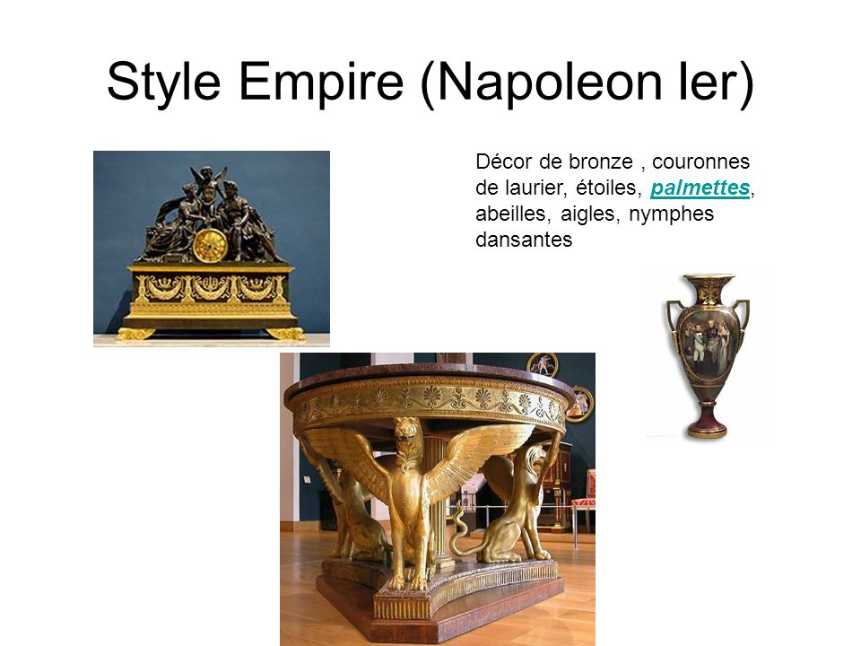 Style Empire (Napoleon Ier)