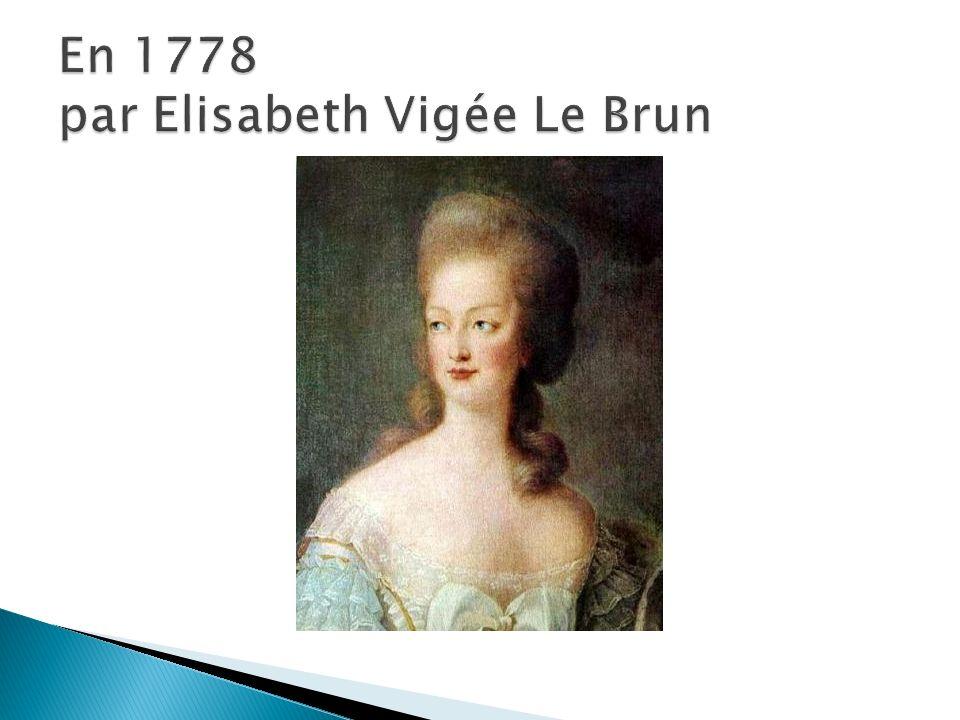 En 1778 par Elisabeth Vigée Le Brun