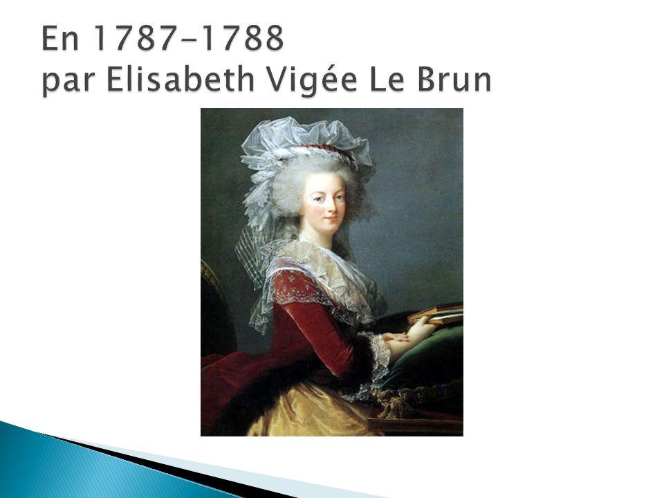 En 1787-1788 par Elisabeth Vigée Le Brun