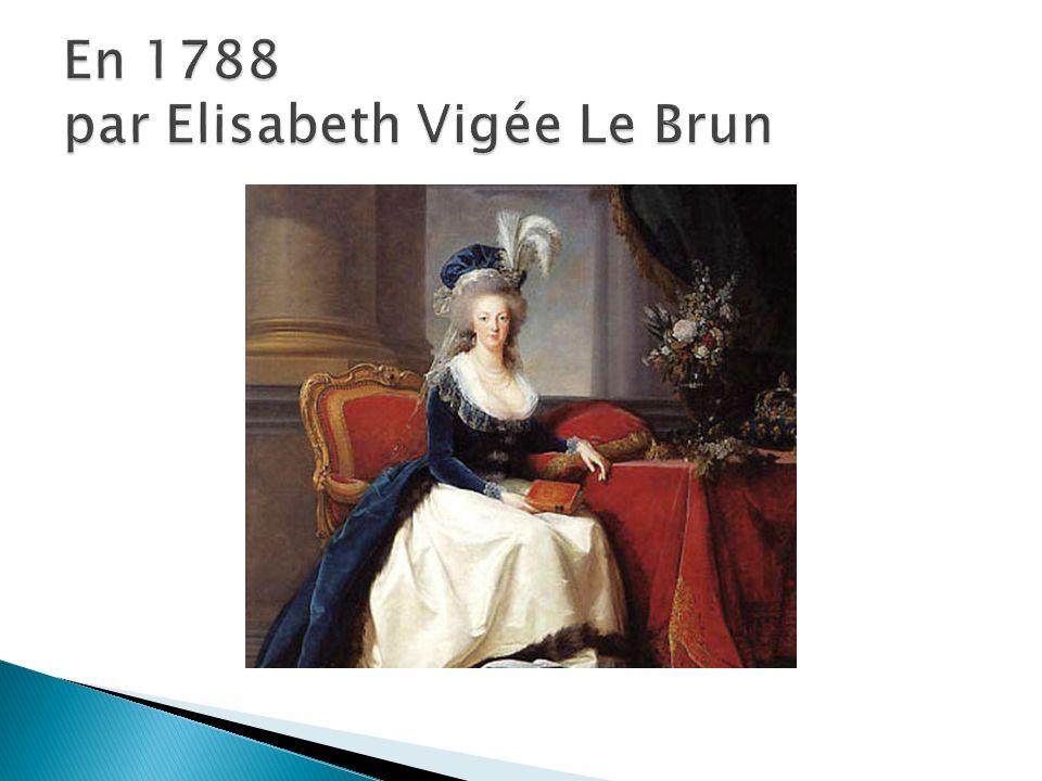 En 1788 par Elisabeth Vigée Le Brun