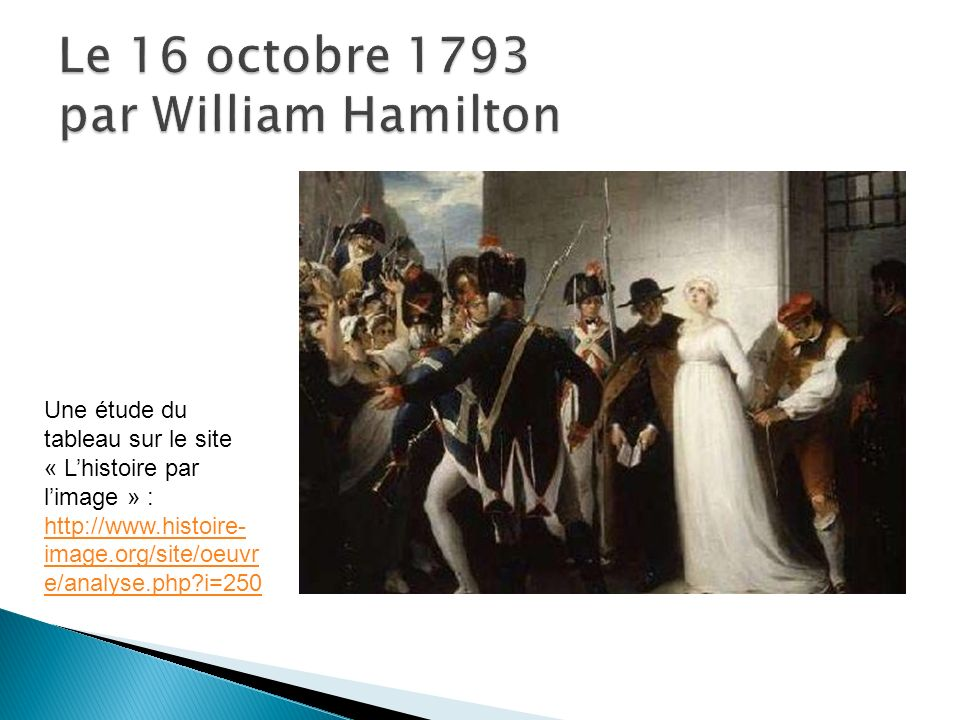 Le 16 octobre 1793 par William Hamilton
