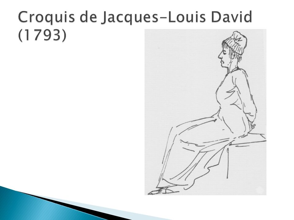 Croquis de Jacques-Louis David (1793)