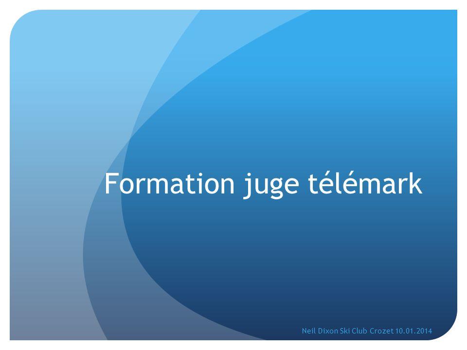 Formation juge télémark