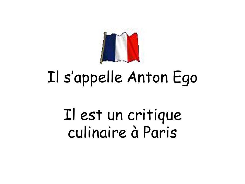 Il est un critique culinaire à Paris