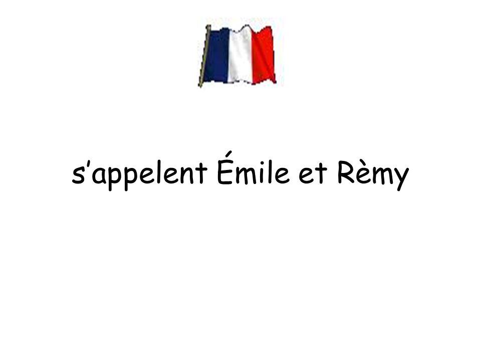 s'appelent Émile et Rèmy
