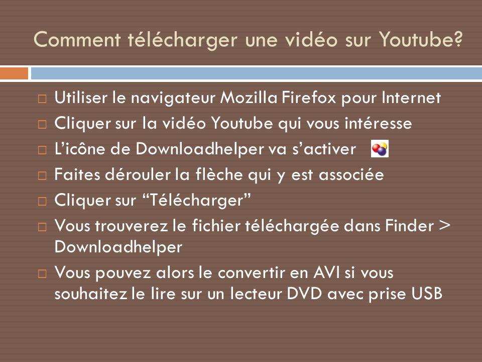 Comment télécharger une vidéo sur Youtube