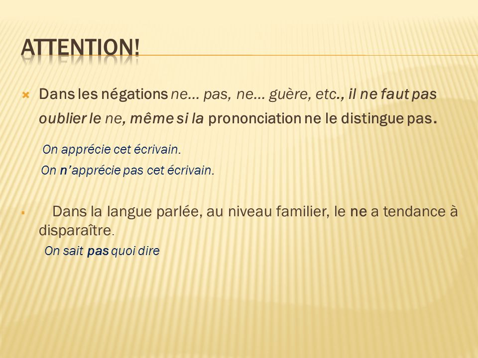 Attention! On apprécie cet écrivain.