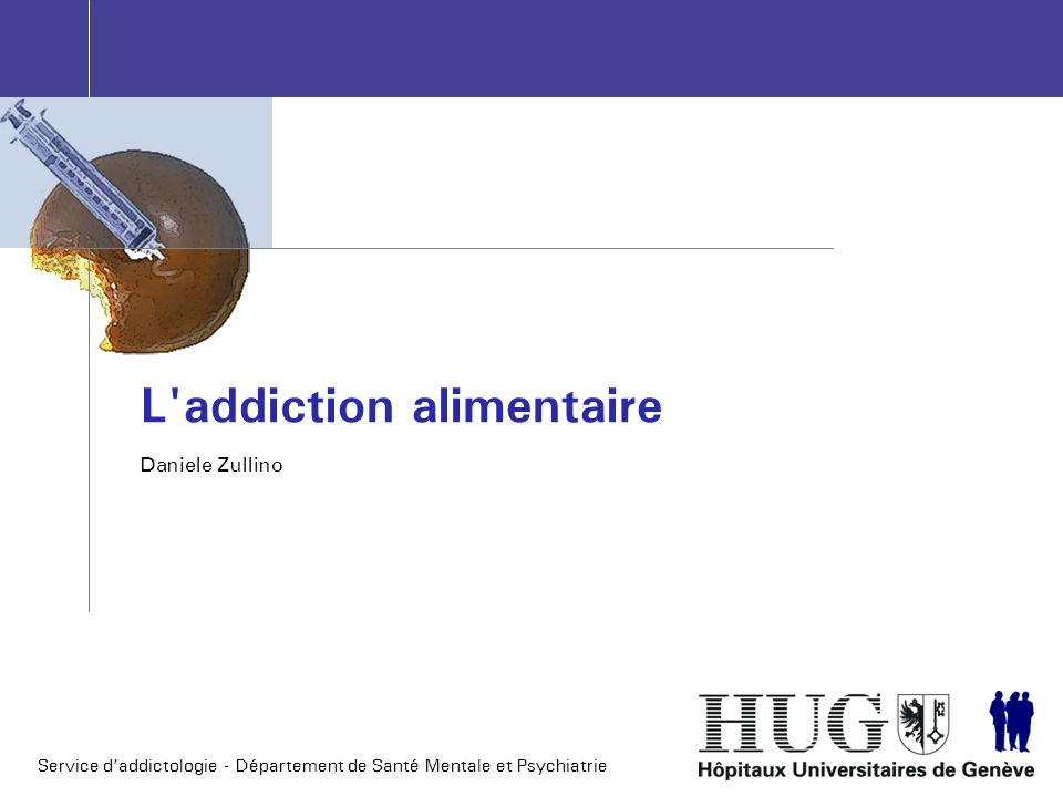 L addiction alimentaire