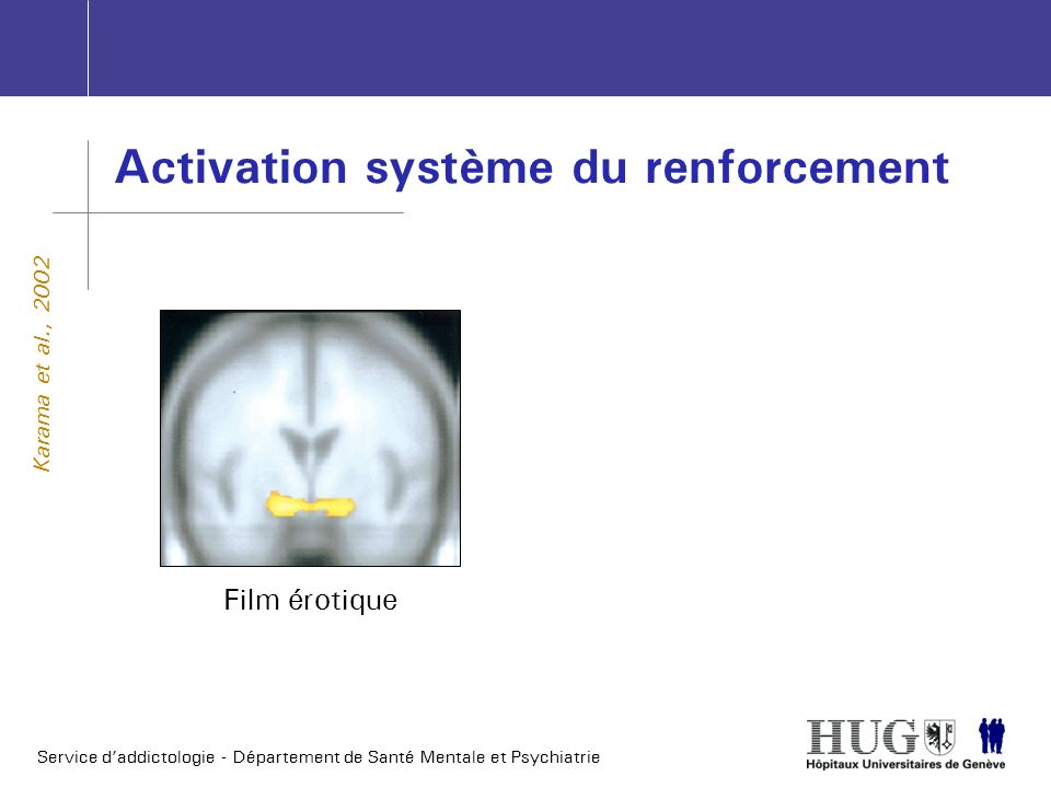 Activation système du renforcement
